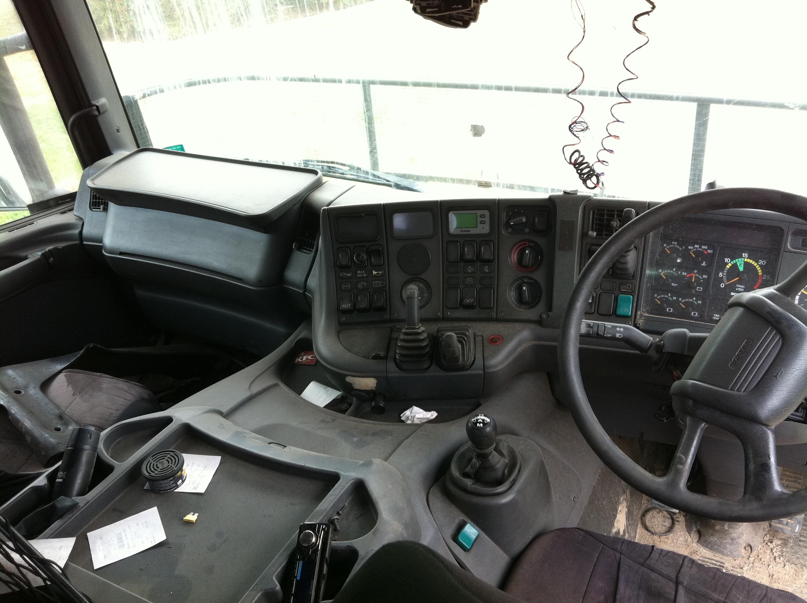 2003 Scania P124 S N W2362 Trucking Supplies
